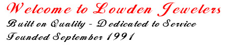 Welcome to Lowden Jewelers